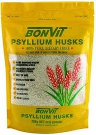 3 PACK OF Bonvit Psyllium Husk 200G