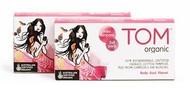 3 PACK OF Tom Organic Mini Tampons 16