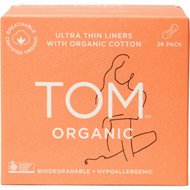 5 PACK of Tom Organic Ultra Thin Liners 26 pack