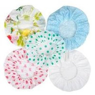 3 PACK OF Shower Cap Lined Cotton
