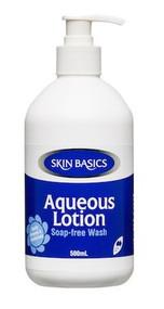 3 PACK OF Skin Basics Aqueous Lotion Pump 500Ml
