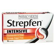 3 PACK OF Strepfen Lozenges Intensive Orange 16
