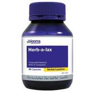 3 PACK OF Blooms Herbalax Capsules 90