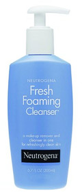 3 PACK OF Neutrogena Fresh Foam Cleanser 200ml