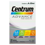 3 PACK OF Centrum Advance Tablets 30