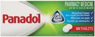 3 PACK OF Panadol Optizorb 50 Tablets