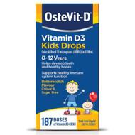 3 PACK OF OsteVit-D Vitamin D3 Kids Drops 0-12 Years 15ml