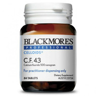 3 PACK OF Blackmores Professional C.F.43 84 Tablets
