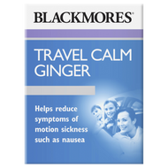 3 PACK OF Blackmores Travel Calm Ginger 45 Tablets