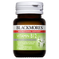 3 PACK OF Blackmores Vitamin B12 75 Tablets