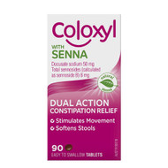 3 PACK OF Coloxyl With Senna 90 Tablets