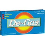 3 PACK OF De-Gas 100Mg Capsules 24