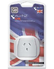 3 PACK OF Go Travel Adaptor British