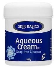 3 PACK OF Skin Basics Aqueous Cream Bp Jar 500G