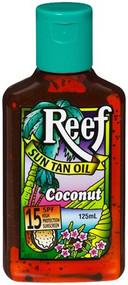 3 PACK OF Reef Oil Coconut 125Ml Water Resistant 15