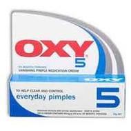 3 PACK OF Oxy-5 Vanishing 25G