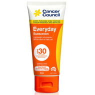 3 PACK OF Cancer Council Everyday Sunscreen SPF 30 Tube 35ml