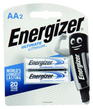 3 PACK OF Energizer Battery Lithium Aa L91 1.5V 2 Pack