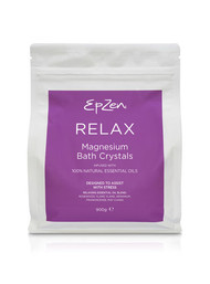 3 PACK OF EpZen Magnesium Bath Crystals Relax 900g