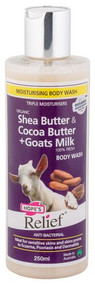 3 PACK OF Hopes Relief Goats Milk Body Wash 250Ml