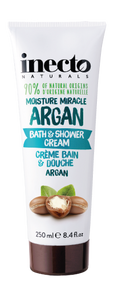 3 PACK OF Inecto Argan Bath And Shower Cream 250ml