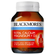 3 PACK OF Blackmores Total Calcium Magnesium + D3 60 Tablets