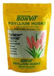 3 PACK OF Bonvit Psyllium Husk 500G