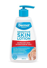 3 PACK OF Dermal Therapy Sensitive Skin Lotion 250ml