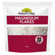 3 PACK OF Natures Way Magnesium Flakes 750g