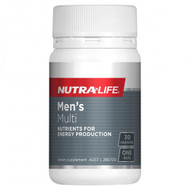 3 PACK OF Nutra Life Mens Multi 30 Capsules