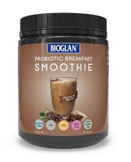 3 PACK OF Bioglan Probiotic Breakfast Smoothie Chocolate 500g