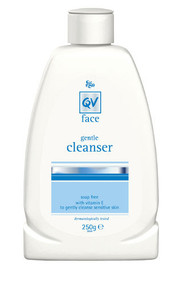 3 PACK OF Ego Qv Face Cleanser 250ml
