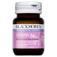 3 PACK OF Blackmores Vitamin B6 42 Tablets