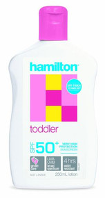 3 PACK OF Hamilton Toddler Sunscreen SPF50+ Lotion 250ml