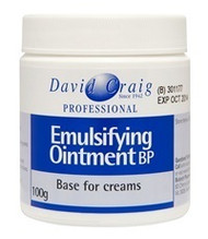 3 PACK OF David Craig Emulsifying Ointment 100G