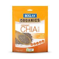 3 PACK OF Bioglan Organics Organic Chia Seeds 750g