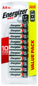 3 PACK OF Energizer Batteries Max E91 Aa (10 Pack)