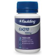 3 PACK OF Faulding CoQ10 150mg 30 Capsules