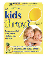 3 PACK OF Kids Sore Throat Lozenges On A Stick 10