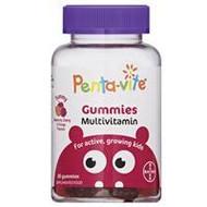 3 PACK OF Pentavite Gummies Multivitamins 60