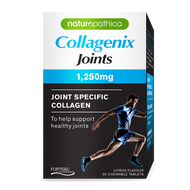 3 PACK OF Naturopathica Collagenix Joints 1250mg 30 Tablets