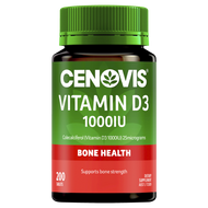 3 PACK OF Cenovis Vitamin D3 1000Iu Tablets 200