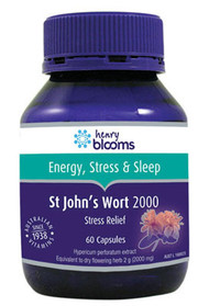 3 PACK OF Henry Blooms St Johns Wort 2000mg 60 Capsules
