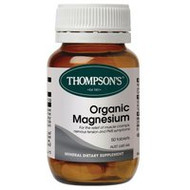 3 PACK OF Thompsons Organic Magnesium Tablets 50