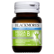 3 PACK OF Blackmores Mega B Complex 31 Tablets