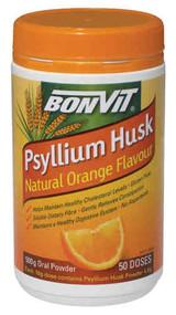 3 PACK OF Bonvit Psyllium Husk Orange 500G