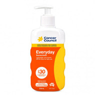 3 PACK OF Cancer Council Everyday Sunscreen Pump SPF 30+ 200ml