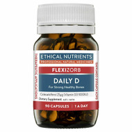 3 PACK OF Ethical Nutrients Flexizorb Daily D 90 Capsules