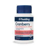 3 PACK OF Faulding High Strength Cranberry 30000 30 Capsules