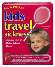 3 PACK OF Kids Travel Sickness Lozenges On A Stick X 10